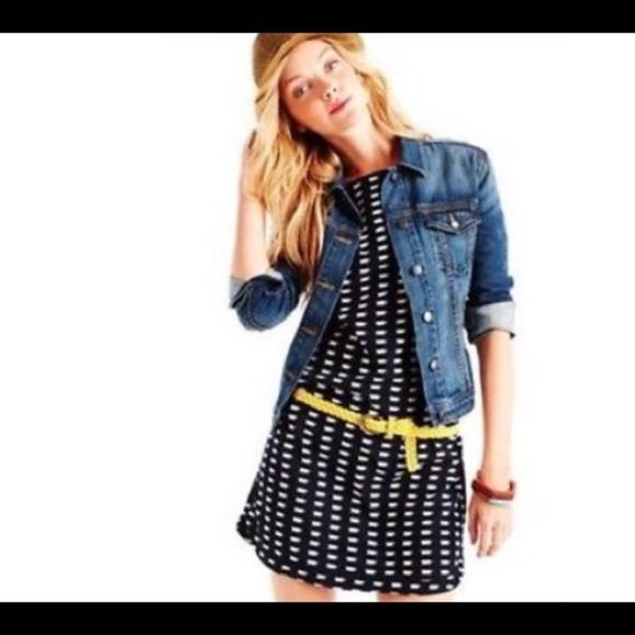 4147f565245c GAP Dresses   Skirts - Gap coffee cup print shift dress navy blue